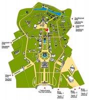 Карта ВВЦ