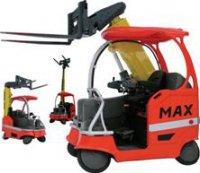 Max Truck AB выпустила многоцелевой погрузчик