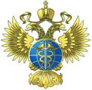 """""""Эмблема представляет собой золотого двуглавого орла, поднявшего вверх распущенные крылья."""