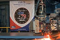 Корпорация Northrop Grumman приступила к строительству второго авианосца класса Gerald R. Ford