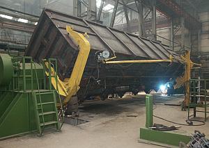 Стахановский вагоностроительный завод наращивает объемы производства.