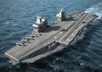 В Великобритании началось строительство авианосца Prince of Wales
