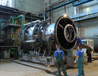 Газотурбинный двигатель ГТД-110 поступил на Ивановские ПГУ