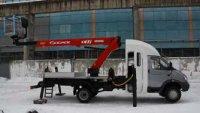 """Автозавод """"Чайка-Сервис"""" выпустил двухрядный АГП на базе ГАЗ-33106"""
