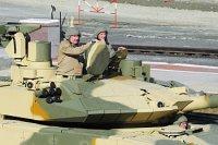 Дмитрию Рогозину показали нижнетагильские танки