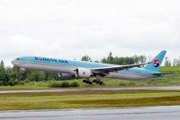 Boeing и Korean Air оформили твердый заказ на самолеты 777-300ER