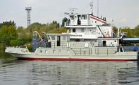 МССЗ спустил на воду обстановочное судно