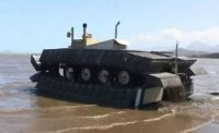 DARPA занимается разработкой танка с наполненными воздухом гусеницами