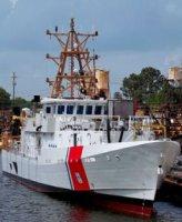Береговая охрана США получила третий патрульный катер FRC