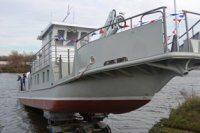 На МССЗ спущено на воду обстановочное судно проекта 3050