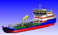 Ярославский судозавод приступил к постройке танкера-бунекровщика проекта RT18