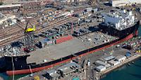 NASSCO завершила заводские ходовые испытания платформы Montford Point