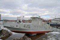 МССЗ спустил на воду обстановочное судно проекта 3050