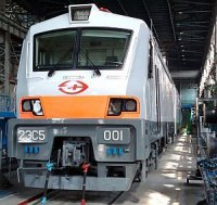 Новый магистральный грузовой электровоз проходит испытания