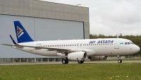 Airbus передал лайнер A320 авиакомпании Air Astana
