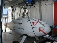 Беспилотный вертолет S-100 проходит испытания в Балтийском море