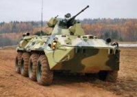 Военные ЦВО получат принятые на вооружение БТР-82А