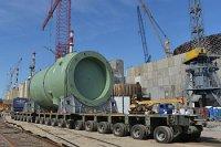 На Ростовскую АЭС прибыл корпус реактора для энергоблока № 3