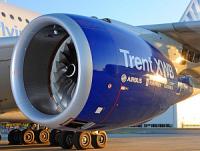 Airbus провел тестовый полет А350 XWB  на новых двигателях