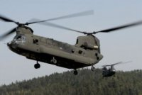 Самолет итальянской армии ICH-47F Chinook совершил первый полет