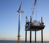 Концерн Siemens AG поставил и подключил ветрогенераторы электростанции London Array