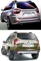 Nissan Terrano - новый взгляд на Renault Duster
