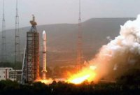 Китай запустил очередной метеоспутник