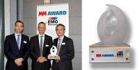 Okuma получила награду за точность пятиосевой обработки