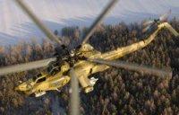 ЗВО получил десять боевых вертолетов