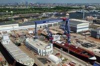 Верфь Aker Philadelphia заложила последнее судно типоразмера Aframax