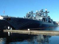 """Противолодочный корабль """"Адмирал Левченко"""" прибыл в ЦС """"Звёздочка"""" для модернизации"""