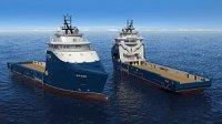 Два судна снабжения платформ получат оборудование от Rolls-Royce