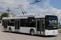 В Самаре тестируют новый минский троллейбус