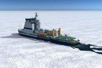 Конкурс на постройку двух атомных ледоколов объявил Росатом