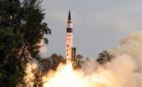 """Индия снова испытывает баллистическую ракету """"Агни-IV"""""""