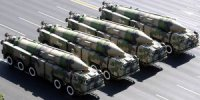 Китай провел испытания баллистической ракеты DF-21 Dong Feng