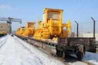 Тракторы ЧТЗ отгружены в Иркутск