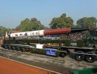 Индия примет на вооружение еще две баллистические ракеты