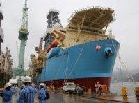 Верфь Samsung Heavy Industries передала Maersk Drilling новое судно