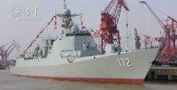 В Китае принят на вооружение миноносец нового проекта 052D