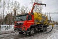 На Нюрбинский ГОК поставлена смесительно-зарядная машина для приготовления тяжелого ANFO