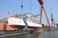 Восьмой патрульный корабль для Береговой охраны Индии спущен на воду