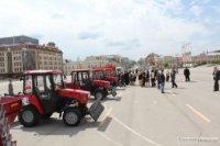 Тракторы Тульского механического завода отправились в Керчь