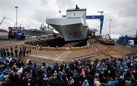Крупнейший авианосец ВМС Великобритании получил имя