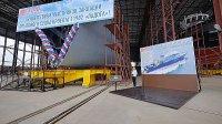 """Киль опытового судна проекта 11982 заложен на """"Пелле"""""""