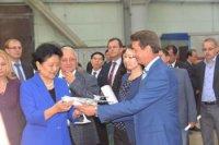 """Гости из КНР оценили производственный потенциал ульяновского завода """"Авиастар-СП"""""""