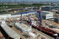 На верфи Aker Shipyard заложен танкер-продуктовоз для Crowly Maritime