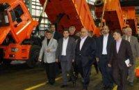 На заводе КДМ им. Калинина побывала делегация из Ирана