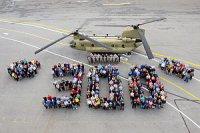 Юбилейный CH-47F Chinook передан ВВС США