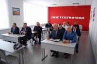 Ростсельмаш налаживает контакты с будущими дагестанскими аграриями